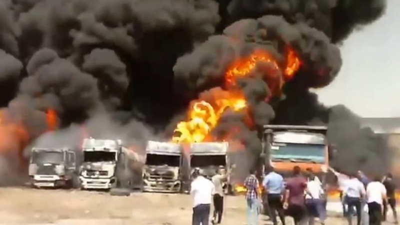 حادث غامض جديد يهز إيران.. انفجار بإقليم كرمنشاه الغربي