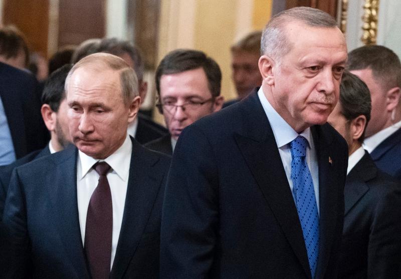 بسبب ليبيا.. قانون أميركي يفرض عقوبات على تركيا وروسيا