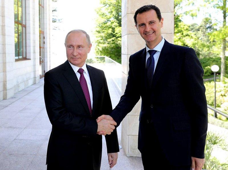 بيان روسي عاجل: بوتين دخل عزلاً ذاتياً عقب مقابلة مع بشار الأسد