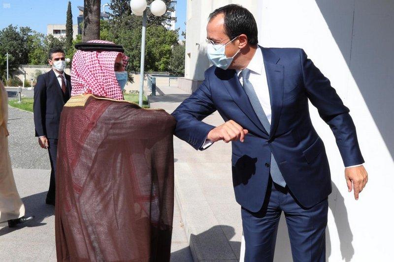 """""""فيصل بن فرحان"""" يقوم بزيارة رسمية لقبرص ويلتقى وزير خارجتها"""