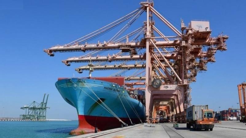 ارتفاع حجم البضائع المناولة في الموانئ السعودية 14%