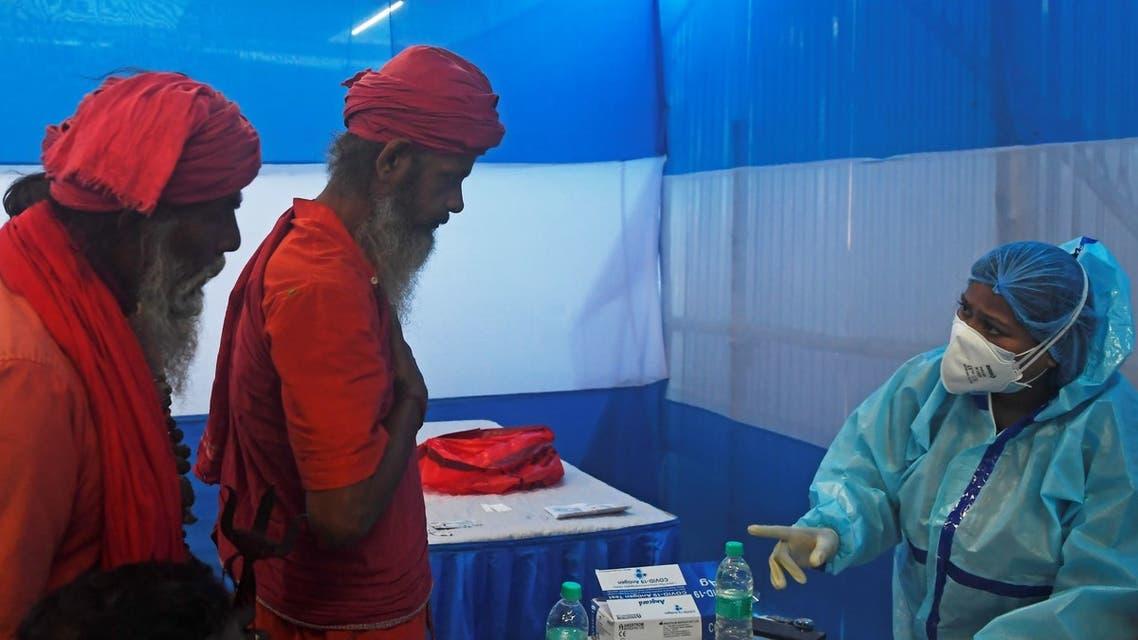 اكتشاف إصابات بسلالة جديدة لفيروس كورونا في الهند