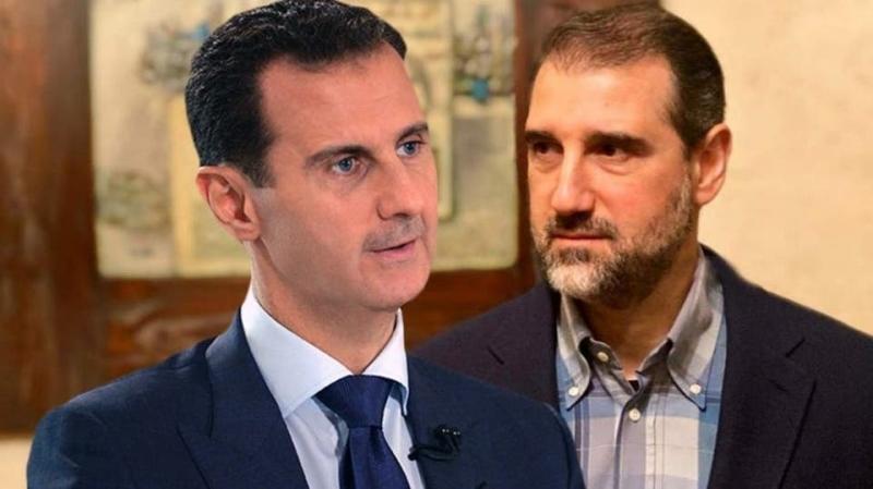 فضيحة مدوية لبشار الأسد وابن خاله رامي مخلوف
