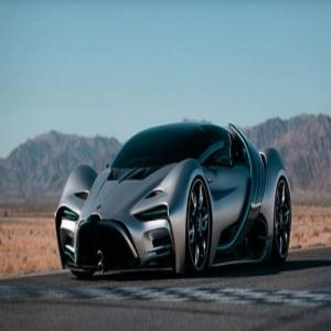 سيارة خارقة تقطع أكثر من 1600 كم.. ولا ينفد وقودها!